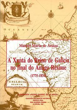 Cuberta para A Xunta do Reino de Galicia no final do Antigo Réxime (1775-1834)