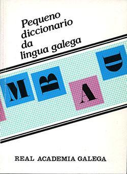 Cuberta para Pequeno diccionario da lingua galega