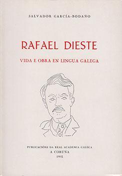 Cuberta para Rafael Dieste: vida e obra en lingua galega