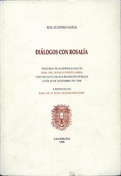 Cuberta para Diálogos con Rosalía