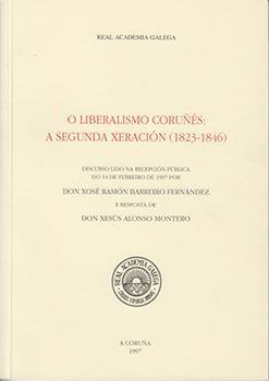 Cuberta para O liberalismo coruñés: a segunda xeración (1823-1846)