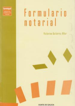 Cuberta para Formulario notarial