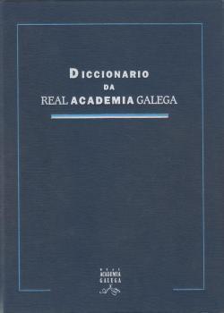 Cuberta para Diccionario da Real Academia Galega: 3ª ed.