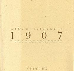 Cuberta para Album Literario da Asociación Iniciadora y Protectora da Real Academia Galega da Habana: 1907