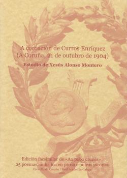 Cuberta para A coroación de Curros Enríquez (A Coruña, 21 de outubro de 1904)