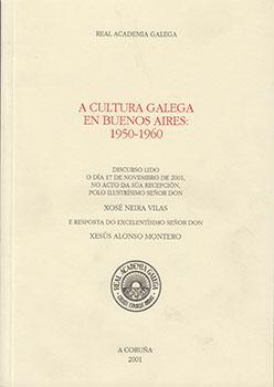 Cuberta para A cultura galega en Buenos Aires: 1950-1960