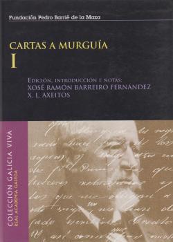 Cuberta para Cartas a Murguía: vol. I