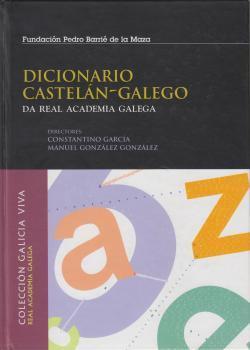 Cuberta para Dicionario castelán-galego da Real Academia Galega
