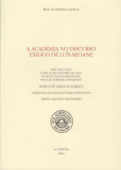 Cuberta para A Academia no discurso exílico de Luís Seoane