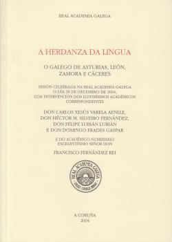 Cuberta para A herdanza da lingua: o galego de Asturias, León, Zamora e Cáceres