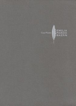 Cuberta para [Catálogo da] Casa-Museo 'Emilia Pardo Bazán'