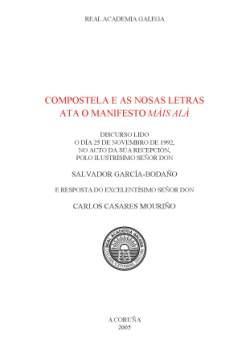 Cuberta para Compostela e as nosas letras ata o manifesto Máis alá