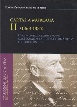 Cuberta para Cartas a Murguía: vol. II