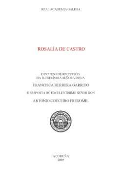 Cuberta para Rosalía de Castro