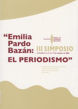 Cuberta para Emilia Pardo Bazán: el periodismo