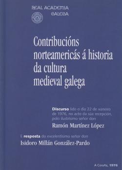 Cuberta para Contribucións norteamericás á historia da cultura medieval galega