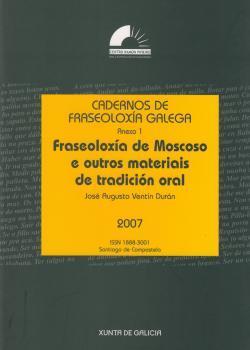 Cuberta para Fraseoloxía de Moscoso e outros materiais de tradición oral