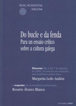 Cuberta para Do bucle e da fenda. Para un ensaio crítico sobre a cultura galega