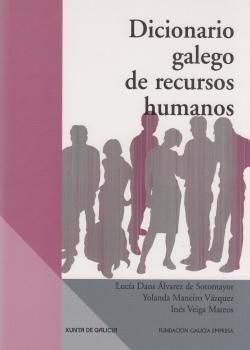 Cuberta para Dicionario galego de recursos humanos