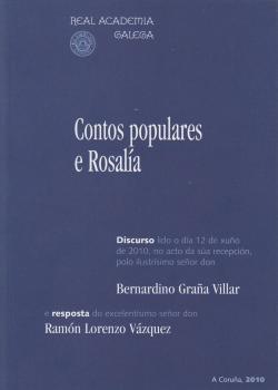 Cuberta para Contos populares e Rosalía