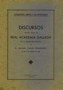 Cuberta para Concepción Arenal y su apostolado
