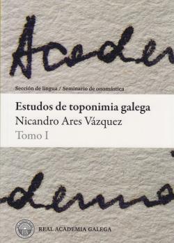 Cuberta para Estudos de toponimia galega: tomo I