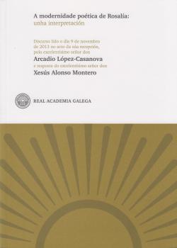 Cuberta para A modernidade poética de Rosalía: unha interpretación