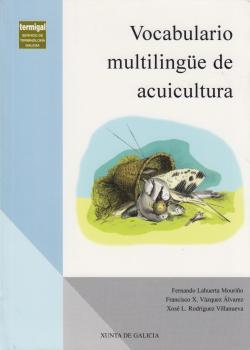 Cuberta para Vocabulario multilingüe de acuicultura: galego, español, inglés, francés, portugués