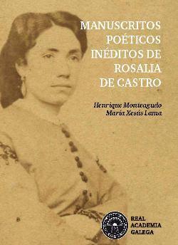 Cuberta para Manuscritos poéticos inéditos de Rosalía de Castro