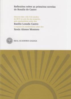 Cuberta para Reflexións sobre as primeiras novelas de Rosalía de Castro