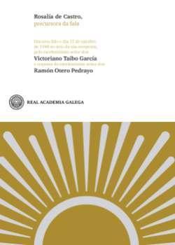 Cuberta para Rosalía de Castro, precursora da fala