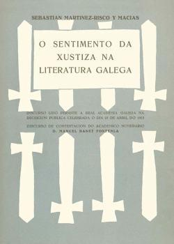 Cuberta para O sentimento da xustiza na literatura galega