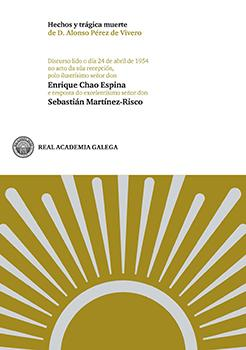 Cuberta para Hechos y trágica muerte de D. Alonso Pérez de Vivero