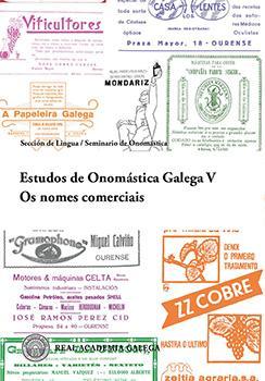 Cuberta para Estudos de Onomástica Galega V. Os nomes comerciais