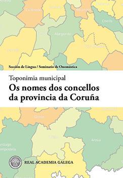 Cuberta para Os nomes dos concellos da provincia da Coruña (Pre-print)