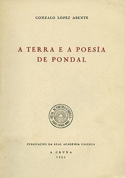 Cuberta para A terra e a poesía de Pondal