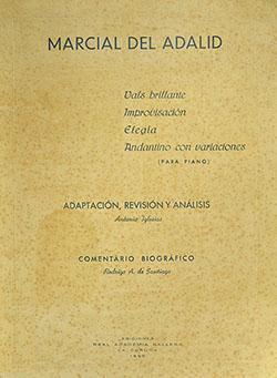 Cuberta para Vals brillante; Improvisación; Elegía; Andantino con variaciones (para piano)