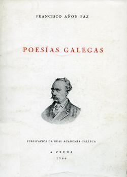 Cuberta para Poesías galegas