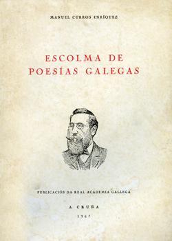 Cuberta para Escolma de poesías galegas
