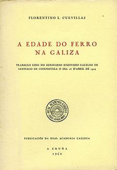 Cuberta para A edade do ferro na Galiza