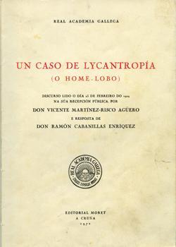 Cuberta para Un caso de lycantropía: (o home lobo)