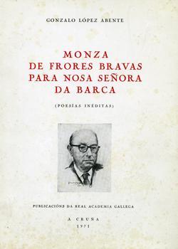Cuberta para Monza de frores bravas para Nosa señora da Barca: poesías in´éditas