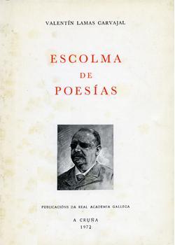 Cuberta para Escolma de poesías
