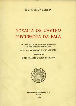 Cuberta para Rosalía de Castro precursora da fala
