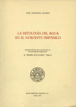 Cuberta para La mitología del agua en el noroeste hispánico