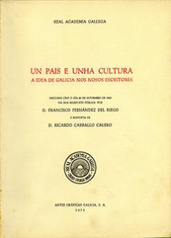Cuberta para Un país e unha cultura: a idea de Galicia nos nosos escritores
