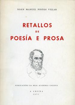 Cuberta para Retallos de poesía e prosa