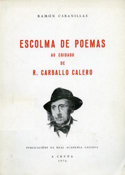 Cuberta para Escolma de poemas