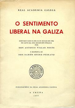 Cuberta para O sentimento liberal na Galiza