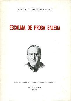 Cuberta para Escolma de prosa galega